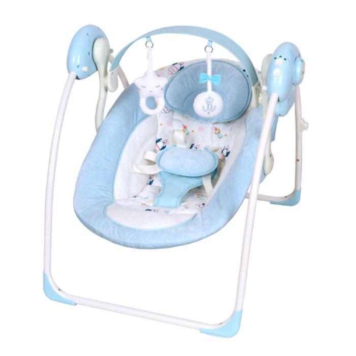Baby Schommelstoel Automatisch.Baby Swing Schommel X Adventure Blauw